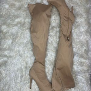 ✨3 for $35✨ Ego Tan Thigh High Boots